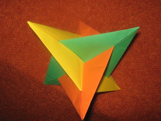 Поделки из объемные геометрические фигуры из бумаги